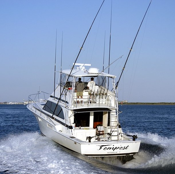 Charter Fishing Boat Deep Sea Fishing Atlantic Beach